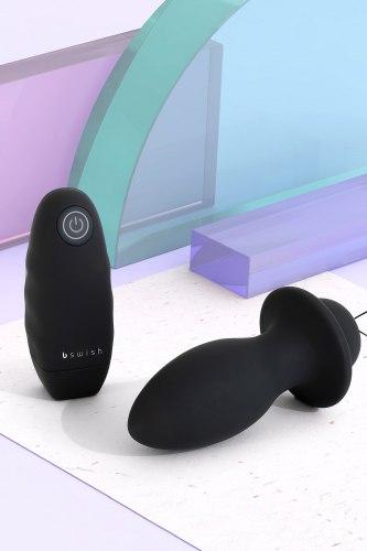 Vibrační anální kolík na dálkové ovládání bFilled Classic Unleashed