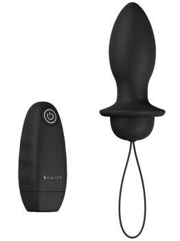 Vibrační anální kolík na dálkové ovládání bFilled Classic Unleashed – Vibrační anální kolíky