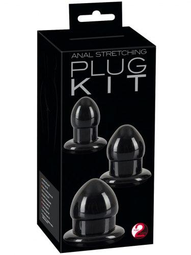 Sada análních kolíků Anal Stretching Plug Kit