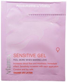 Stimulační gel pro ženy Viamax Sensitive Gel - VZOREK – Stimulační krémy a gely na penis, klitoris, bod G i bradavky