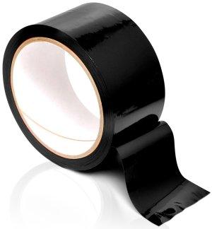 Páska na bondage Pleasure Tape, černá – Pomůcky pro úchvatnou bondage (svazování)