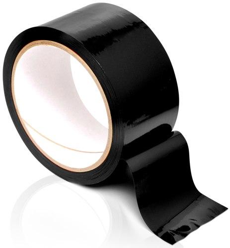 Páska na bondage Pleasure Tape, černá