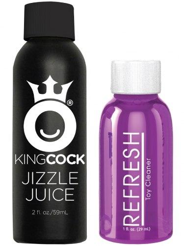 """Stříkající realistické dildo King Cock 7"""""""