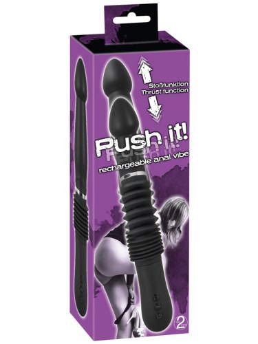 Nabíjecí přirážecí vibrátor Push it! - anální