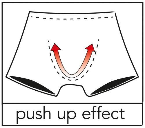Průsvitné boxerky s push-up efektem Svenjoyment