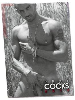 Nástěnný kalendář REAL COCKS 2019 – Sexy erotické kalendáře