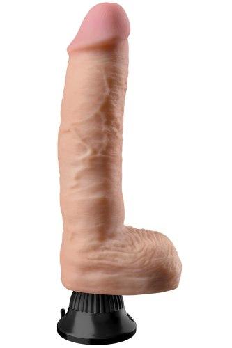 Realistický vibrátor s varlaty Real Feel Deluxe No. 9 (27 cm)