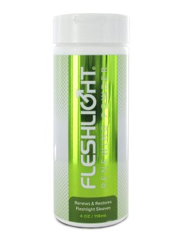Ošetřující pudr Fleshlight – Ošetřující pudry na erotické pomůcky