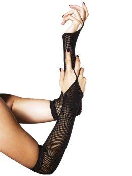 Dlouhé síťované návleky na ruce – Sexy rukavice a návleky na ruce