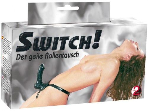 Latexový připínací penis SWITCH!