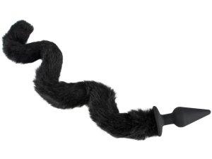 Anální kolík s tvarovatelným kočičím ocáskem – Anální kolíky s ocasem
