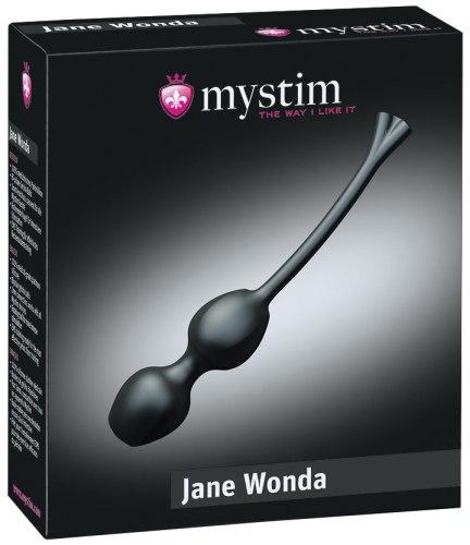 Silikonové venušiny kuličky Jane Wonda (elektrosex)