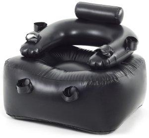 Nafukovací křeslo na bondage – Erotický nábytek