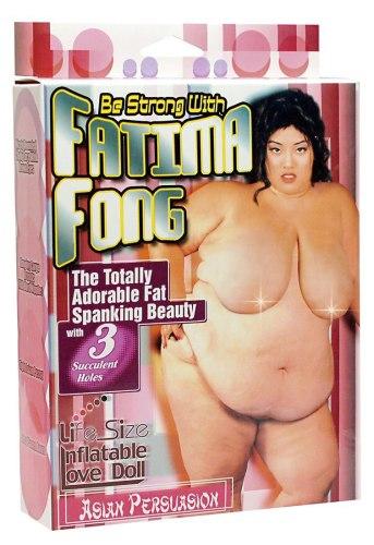 Nafukovací panna Fatima Fong XXL