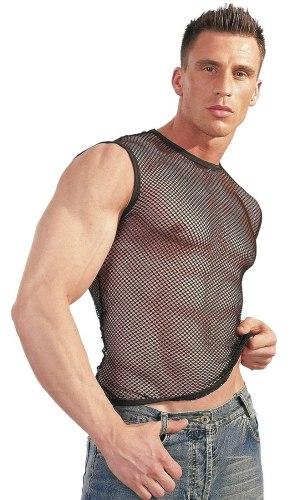 Síťované tričko pro muže