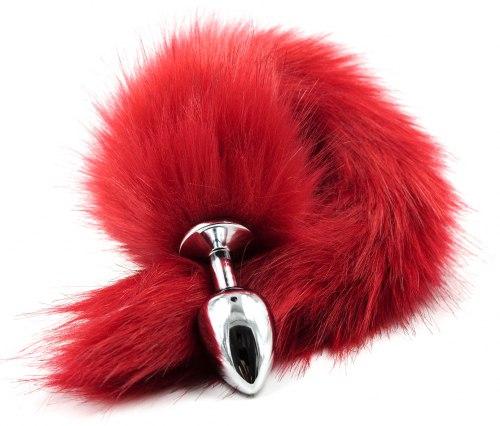 Anální kolík liščí ocásek, červený