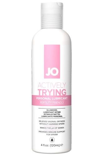 Lubrikační gel System JO Actively Trying (na podporu otěhotnění)