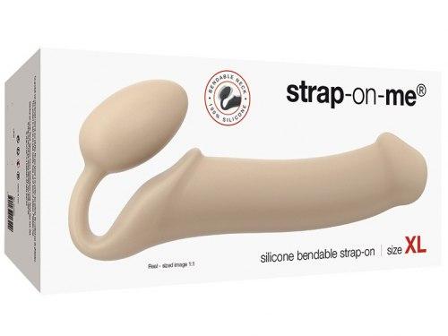 Tvarovatelný samodržící připínací penis Strap-On-Me (velikost XL)