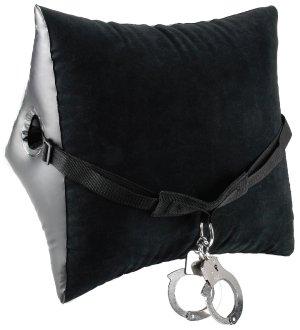 Nafukovací polštář s popruhem a pouty Deluxe Position Master – Erotický nábytek