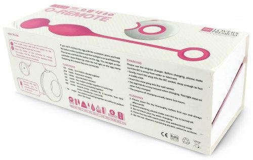 Vibrační venušiny kuličky na dálkové ovládání O-Remote Julia
