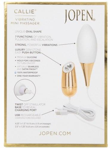 Luxusní nabíjecí vibrační vajíčko Jopen Callie