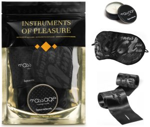 Sada erotických pomůcek Instruments of Pleasure Orange – Erotické sady