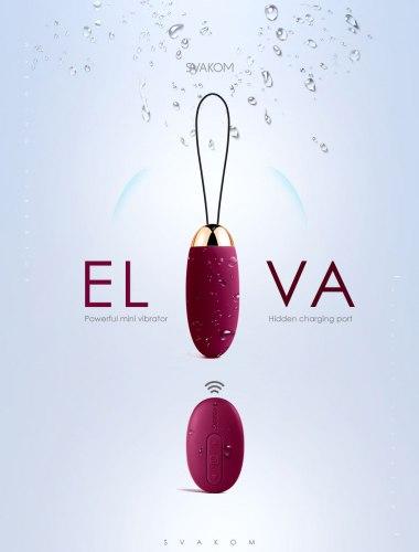 Nabíjecí bezdrátové vibrační vajíčko Svakom Elva