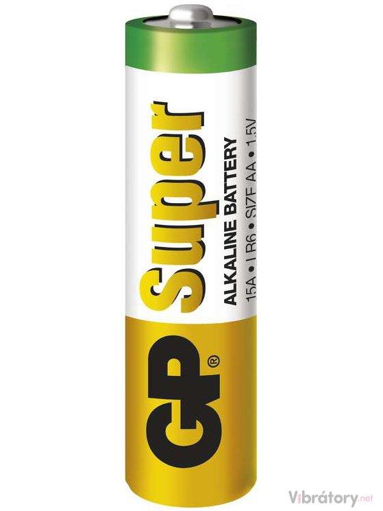 GP GP Baterie AA (LR6) Super, alkalická