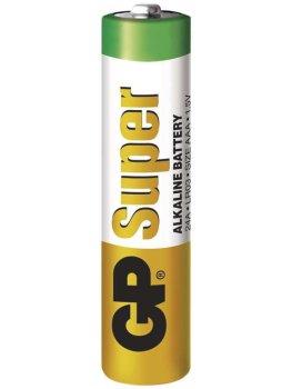 Baterie AAA GP Super, alkalická – Baterie do erotických pomůcek a powerbanky