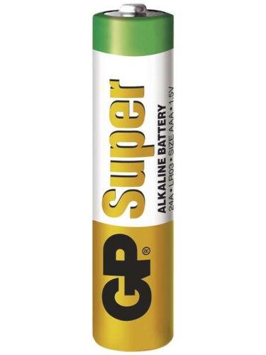 Baterie AAA GP Super, alkalická