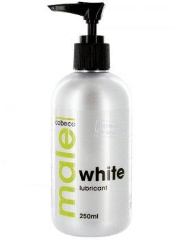 Bílý lubrikační gel MALE WHITE - extra hustý – Lubrikační gely na vodní bázi