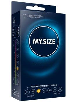 Kondomy MY.SIZE 53 mm, 10 ks – Akční a výhodné balíčky kondomů
