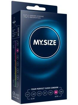 Kondomy MY.SIZE 64 mm, 10 ks – Akční a výhodné balíčky kondomů