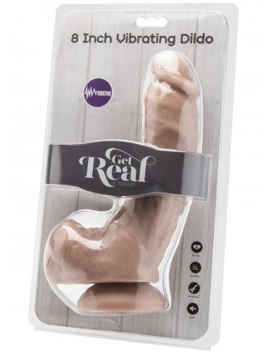 "Realistický vibrátor Get Real 8"""