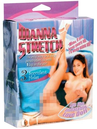 Nafukovací panna Dianna Stretch (ležící)