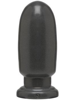 Dildo American Bombshell SHELL SHOCK LARGE Gun Metal – Anální dilda pro muže i ženy
