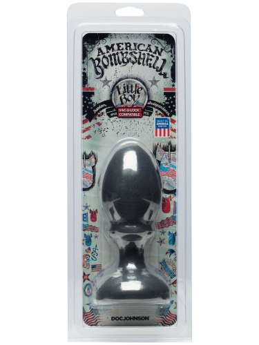 Dildo American Bombshell LITTLE BOY Gun Metal