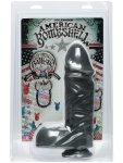 Dildo American Bombshell BALLISTIC Gun Metal