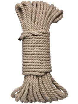 Konopné lano na bondage Hogtied Bind & Tie 50 ft, 15 m – Bondage lana na vzrušující svazování