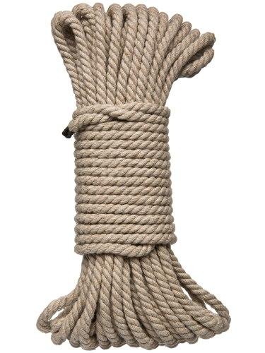 Konopné lano na bondage Hogtied Bind & Tie 50 ft, 15 m