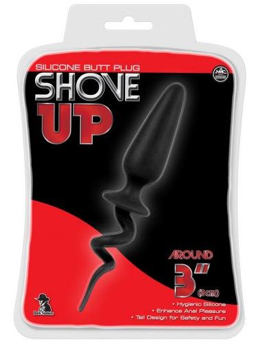 Anální kolík se zakrouceným ocáskem Shove Up