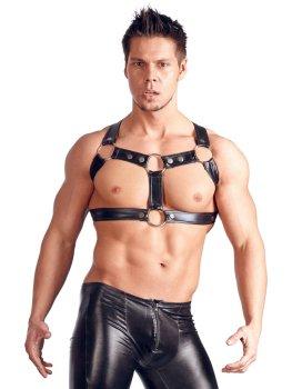 Hrudní postroj Chest Harness – Fetiš a BDSM oblečení a postroje