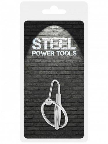 Dilatátor - kolík do penisu Steel Power Tools, 8 mm