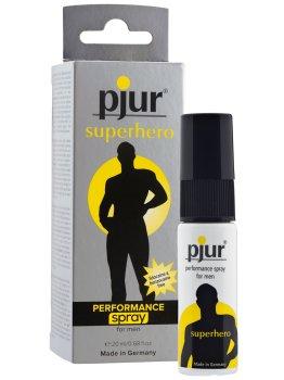 Sprej na oddálení ejakulace Pjur Superhero – Přípravky a pomůcky na oddálení ejakulace
