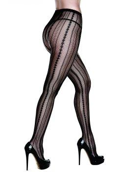 Punčochové kalhoty s výrazným vzorem Baci – Punčochové kalhoty
