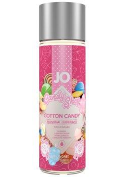Lubrikační gel System JO H2O Cukrová vata - limitovaná edice – Lubrikační gely na vodní bázi