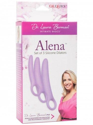 Sada dilatátorů na roztažení vaginy Alena, 3 ks