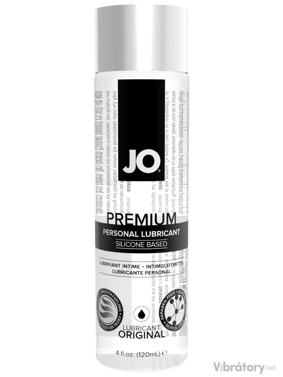 Silikonový lubrikační gel System JO Premium, 120 ml