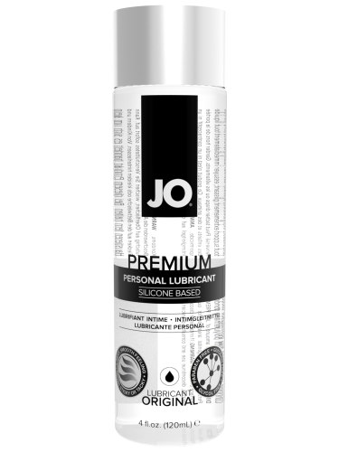 Lubrikační gely na silikonové bázi: Silikonový lubrikační gel System JO Premium