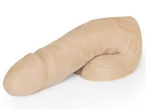 Umělý penis na vyplnění rozkroku Mr. Limpy Medium, střední – Vycpávky a nálepky na bradavky